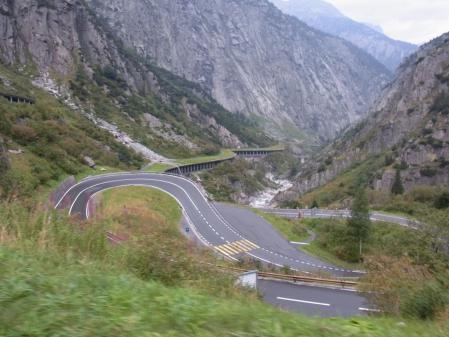 【改訂版】2012 スイスBD-1の旅(2日目-4:Gurtnellen→Hospental)