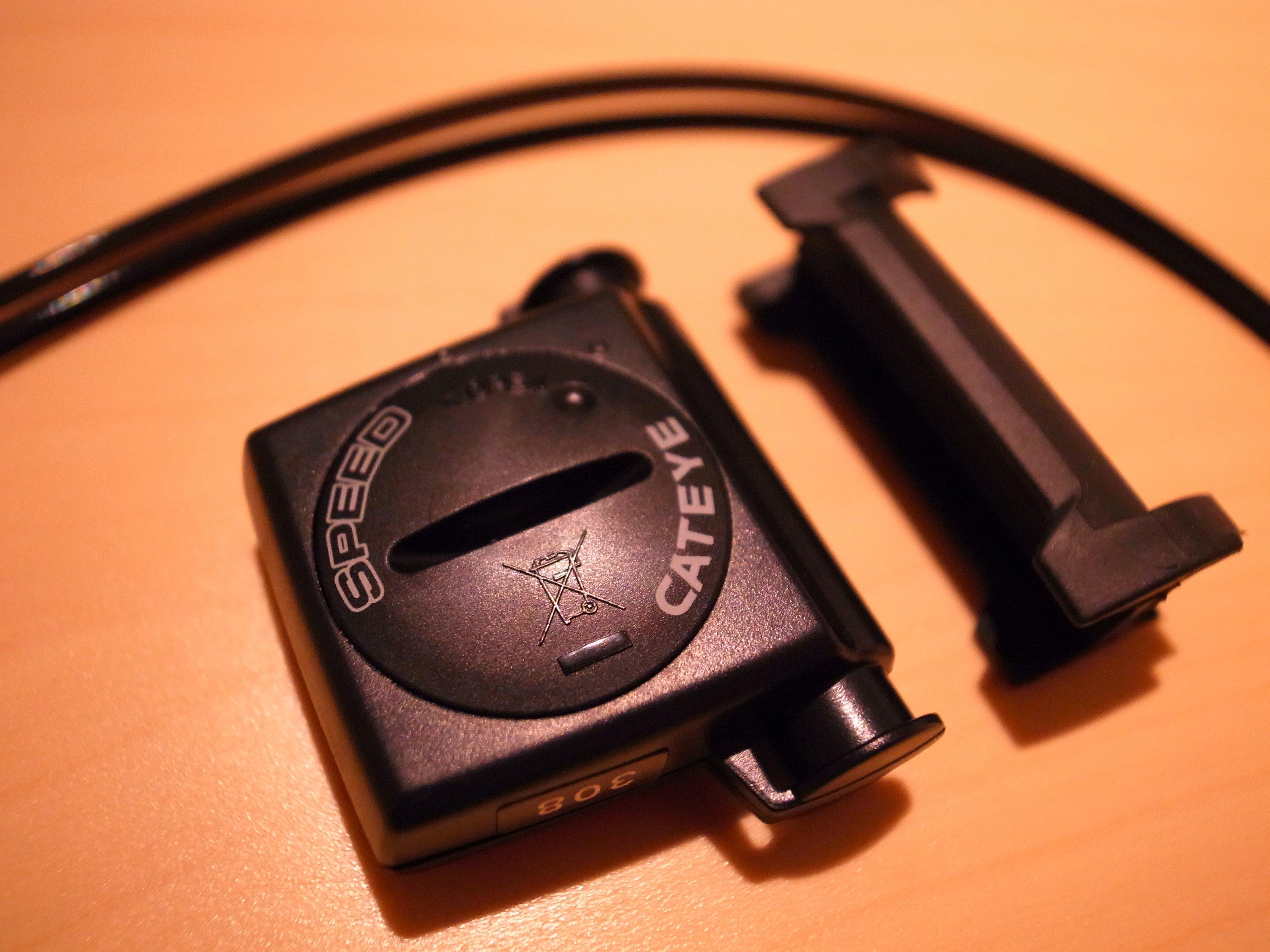 BD-1にスピードセンサー(ベロワイヤレス プラス CC-VT210W)取り付け