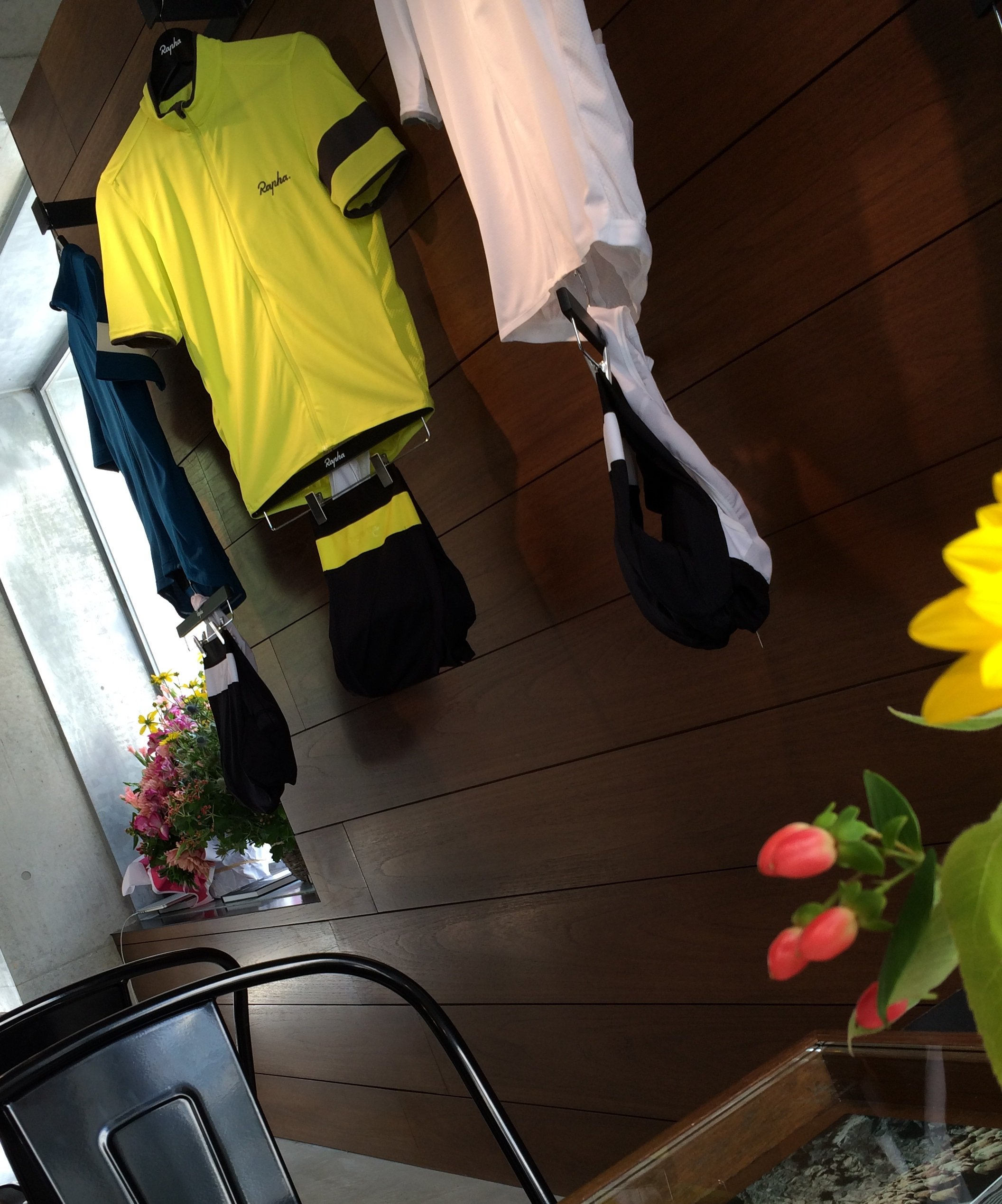 Rapha Cycle Club Tokyo(ラファ サイクルクラブ東京)訪問