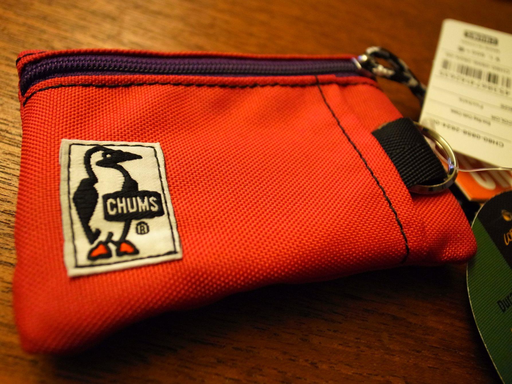 自転車用財布の決定版 CHUMS Eco Key Coin Case (チャムス エコ キーコインケース)を購入!