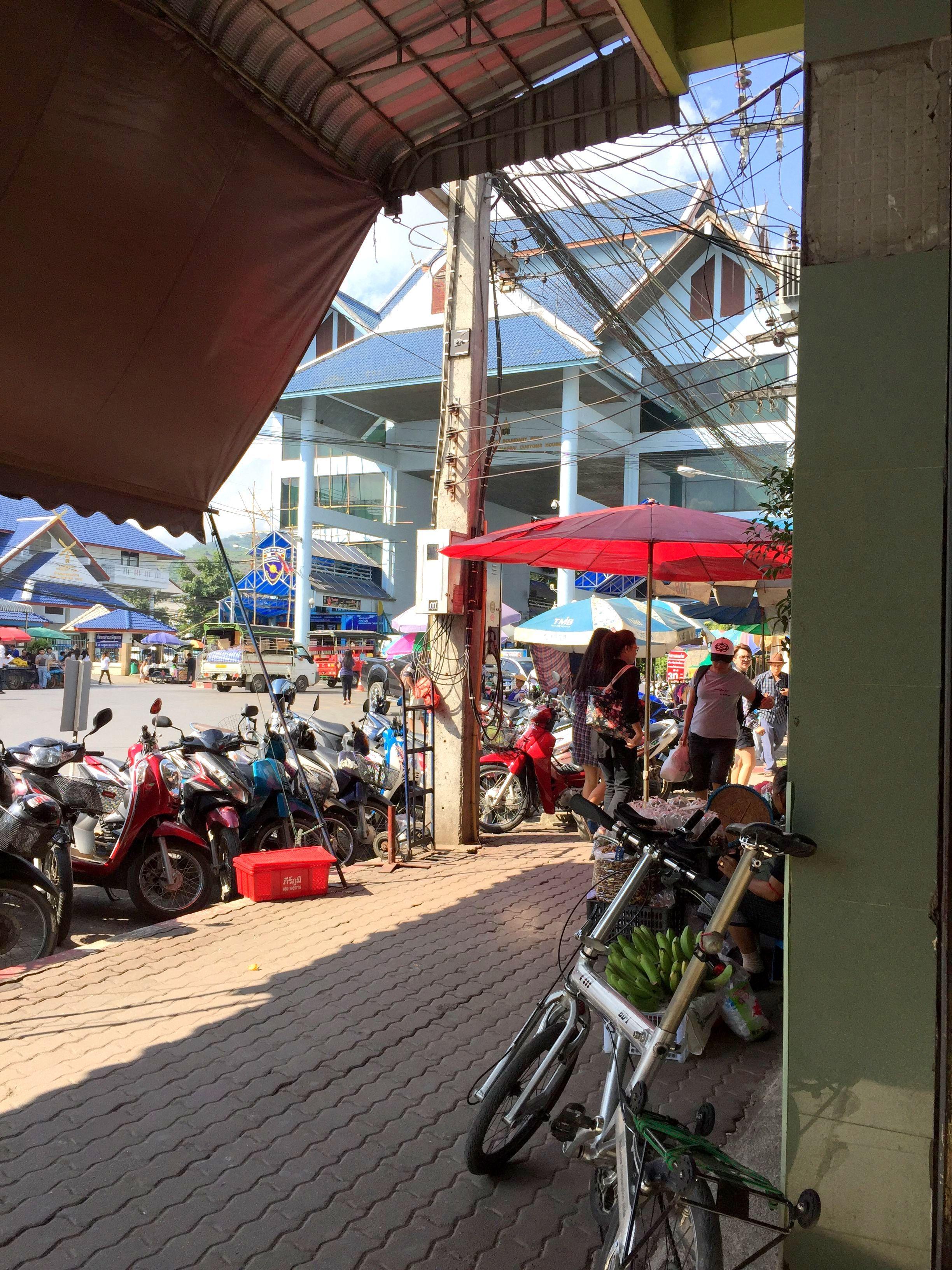 BD-1でタイ⇔ミャンマー国境を通過