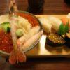釧路・和商市場の竹寿司で食事