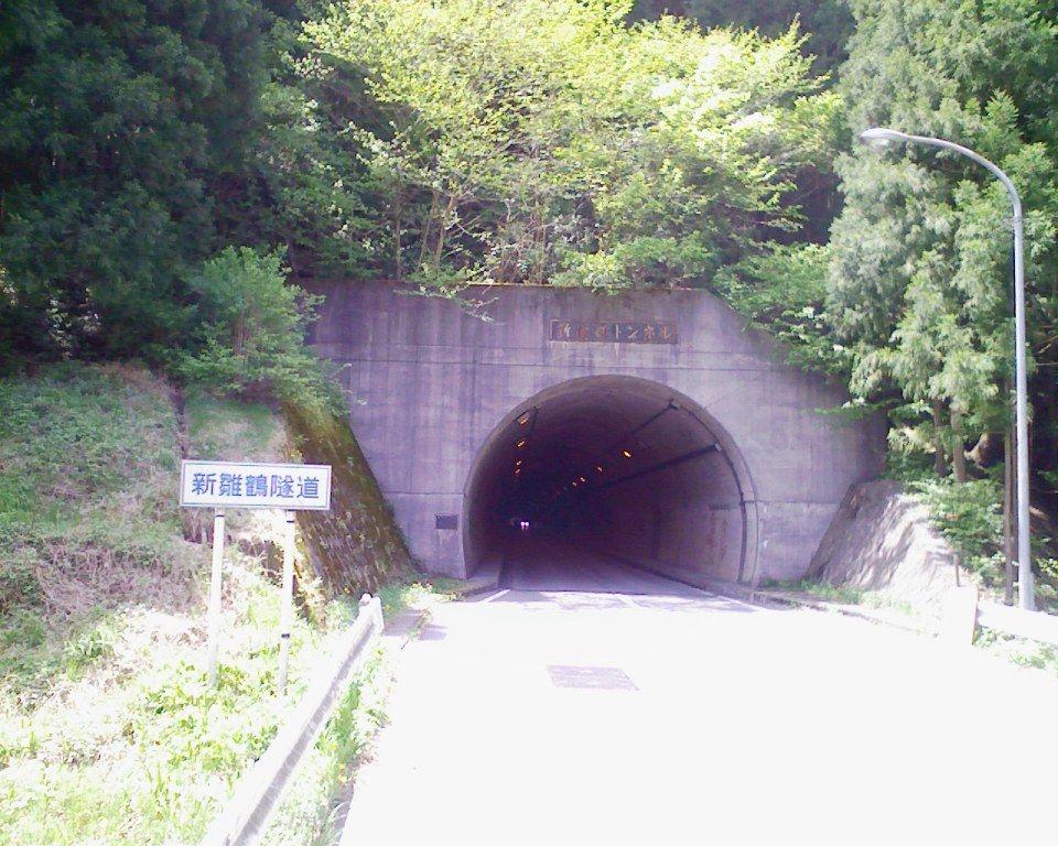 ロードバイクで新雛鶴トンネル往復ロングライド