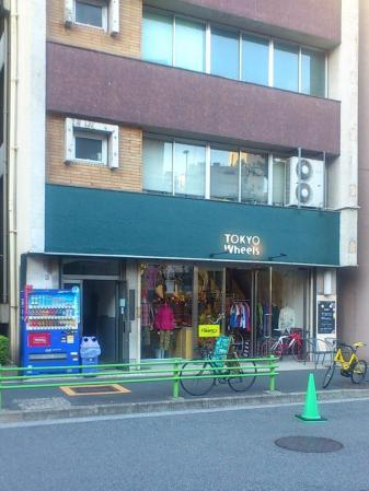 ウェアが充実 tokyo wheels 東日本橋店