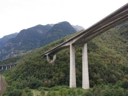 【改訂版】2012 スイスBD-1(birdy)サイクリングの旅(3日目-4:Faido→Biasca)