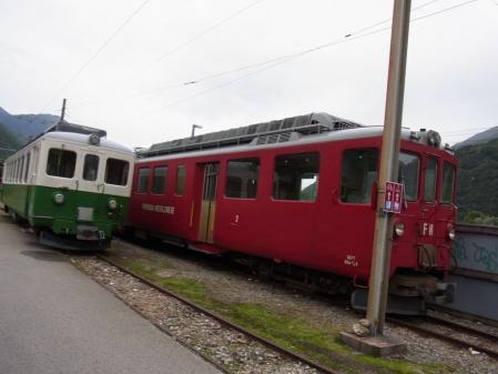 【改訂版】2012 スイスBD-1(birdy)サイクリングの旅(3日目-5:Biasca→Bellinzona)