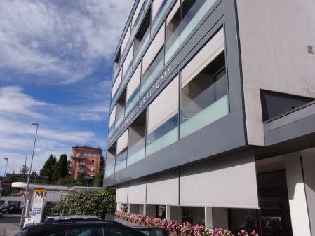 【改訂版】2012 スイスBD-1(birdy)サイクリングの旅(3日目-6:Hotel Garni Muralto(ホテル ガルニ ムラルト))
