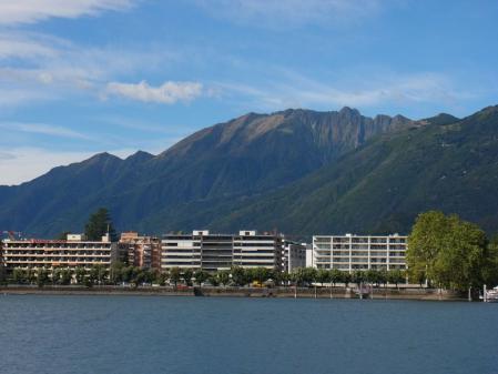 【改訂版】2012 スイスBD-1(birdy)サイクリングの旅(4日目-1:Locarno→CADENAZZO)