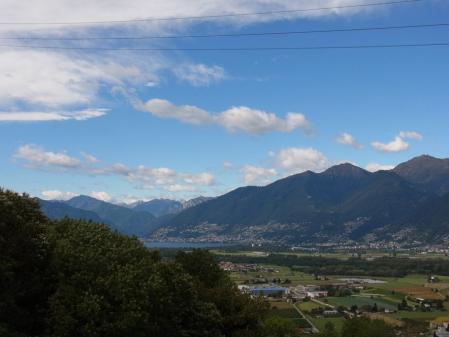 【改訂版】2012 スイスBD-1(birdy)サイクリングの旅(4日目-2:CADENAZZO→Lugano)