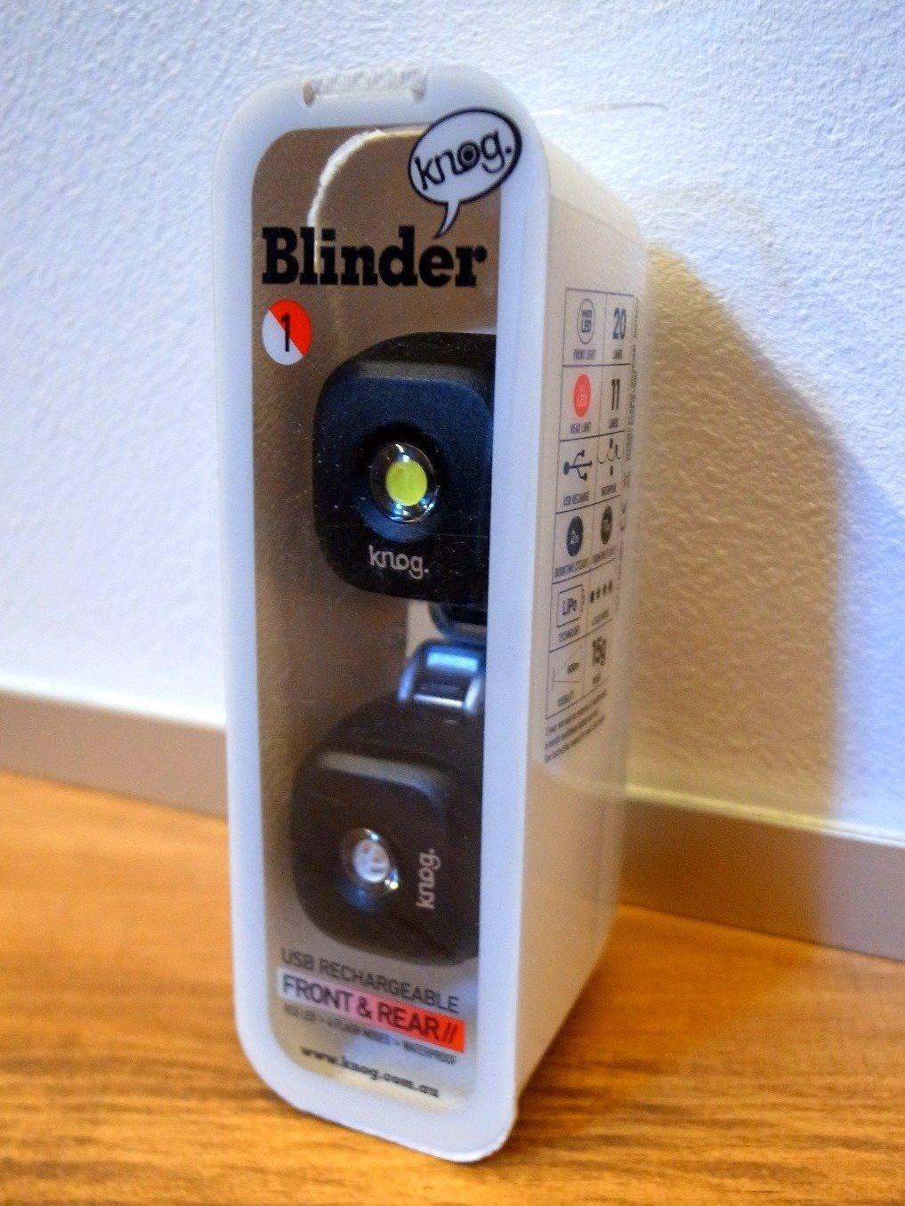 小型ライト knog Blinder-lights 1を買いました。が、、破断