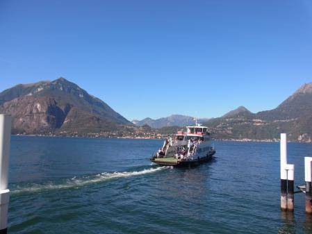 【改訂版】2012 スイスBD-1(birdy)サイクリングの旅(5日目-2:Varenna→Colico)