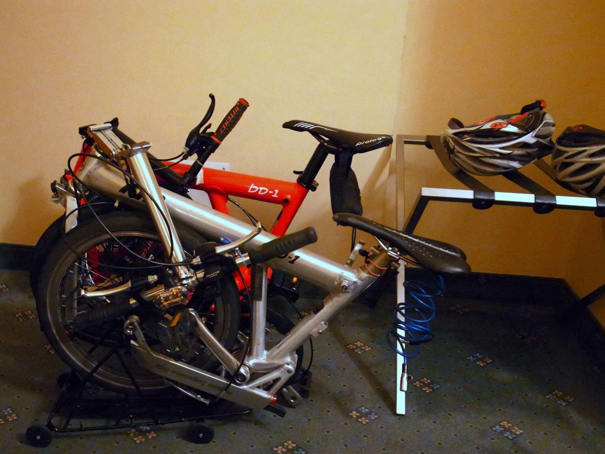 2015 イタリアBD-1サイクリングの旅(1日目)