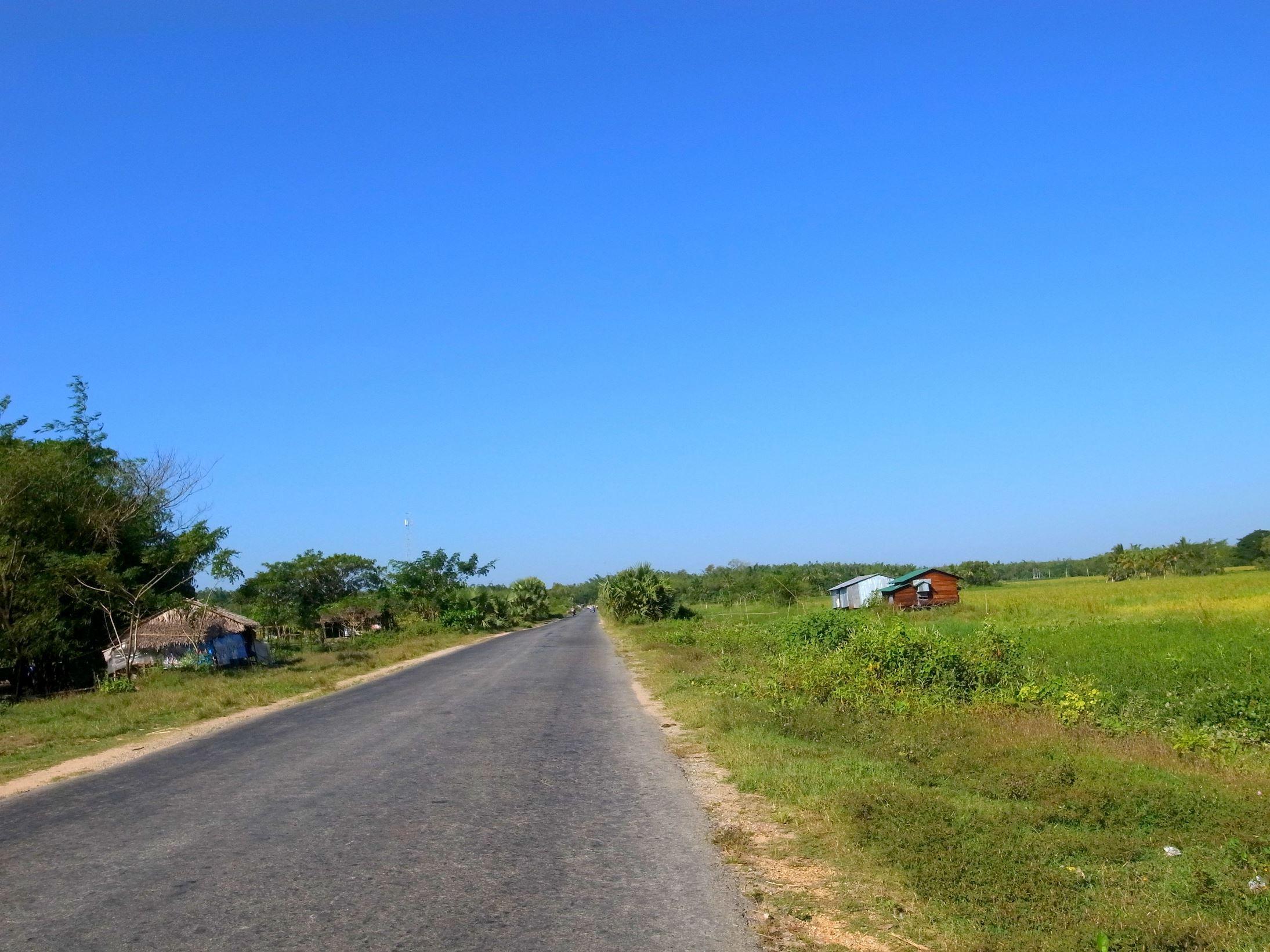 ミャンマー BD-1サイクリング Yangon to Twantay